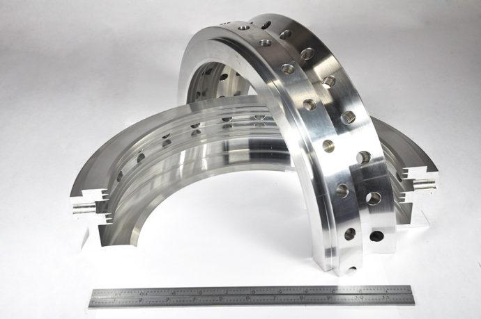 Aluminum Oil Deflector